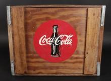 Vintage Coca Cola Wooden Crate