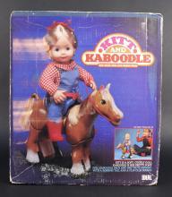 1984 Ideal Kitt & Kaboodle Doll & Action Pony
