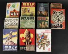 11 Assorted Vintage Cub & Boy Scout Books