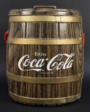 Vintage Coca Cola Thermos Barrel Cooler