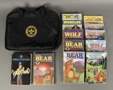 Vintage Assorted Cub Scout Books