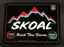 Skoal Tobacco Light-Up Store Advertisement Sign