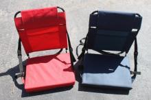 2 Stadium Folding Chairs