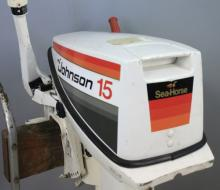 Johnson Seahorse 15 HP Boat Motor