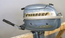 Evinrude Lightwin Boat Motor 3 HP