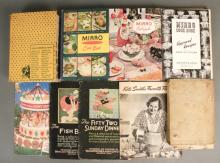 Betty Crocker, Mirro etc. Vintage Cookbooks