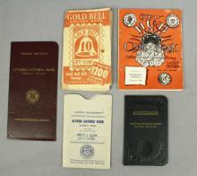 Vintage Banking & Coin Saving Books, Alpena, MI