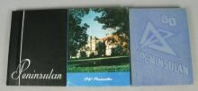 3 Northern Michigan University Yearbooks 1960s
