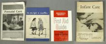 4 Vintage Prenatal & Women's Health Booklets