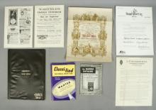 Vintage Classified Ad Booklets, Advertisements - Ephemera