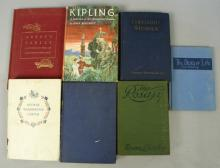 Vintage Books 1932 Kipling, 1907 Firelight Stories