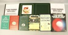 9 Golfing Books, Instant Lessons, Harvey Penick