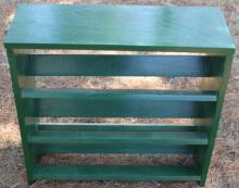 Green Wood Book Shelf