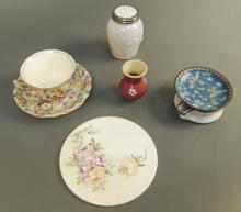 Decorative Dishes, James Kent Tea Cup with Saucer