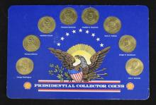 Shell Presidential Collector Coins Set