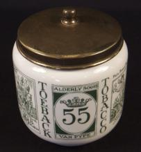 Vintage Royal Goedewaagen Tobacco Jar