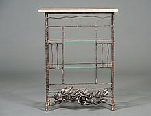 ART DECO STYLE METAL STAND