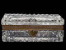 CUT GLASS BOX