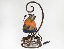 ART NOUVEAU STYLE METAL DESK LAMP