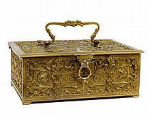 ART NOUVEAU BRONZE BOX