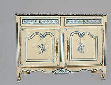 LOUIS XV PAINTED PROVINCIAL BUFFET