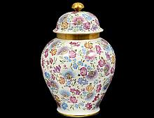 THOMAS PORCELAIN JAR AND COVER