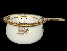 NIPPON PORCELAIN STRAINER AND BOWL