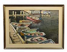 JULIUS DELBOS (American. 1879-1970)
