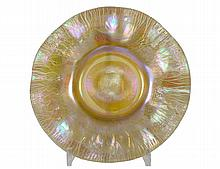TIFFANY STUDIOS FAVRILE GLASS DISH