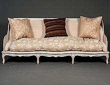 CONTINENTAL PAINTED SOFA