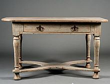 CONTINENTAL PAINTED TABLE