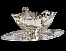 CONTINENTAL SILVER SAUCE BOAT