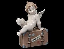 LLADRO PORCELAIN FIGURE OF CUPID