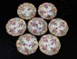 SET OF SEVEN MEISSEN PORCELAIN PETTIFORE PLATES