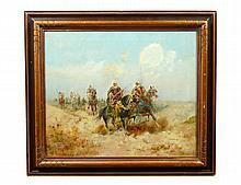MANNER OF ADOLF SCHREYER (French/German. 1828-1899)