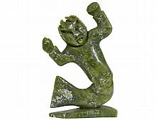 INUIT CARVED SOAPSTONE FIGURE