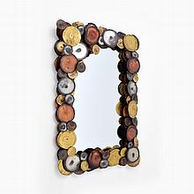 RAINDROPS Mirror, Manner of Curtis Jere