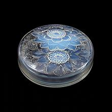 Rene Lalique Opalescent Lidded Bowl