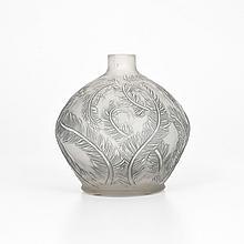 Rene Lalique PLUMES Vase