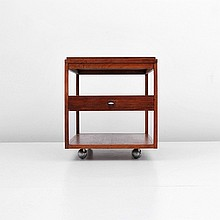 Paul McCobb End Table/Cart