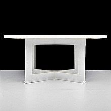 Dining Table, Manner of Karl Springer