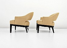 Pair of P. Smith & Co. Club Chairs