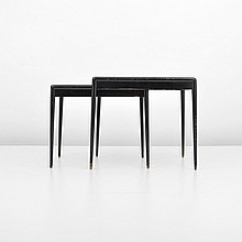 Pair of T.H. Robsjohn-Gibbings Nesting Tables