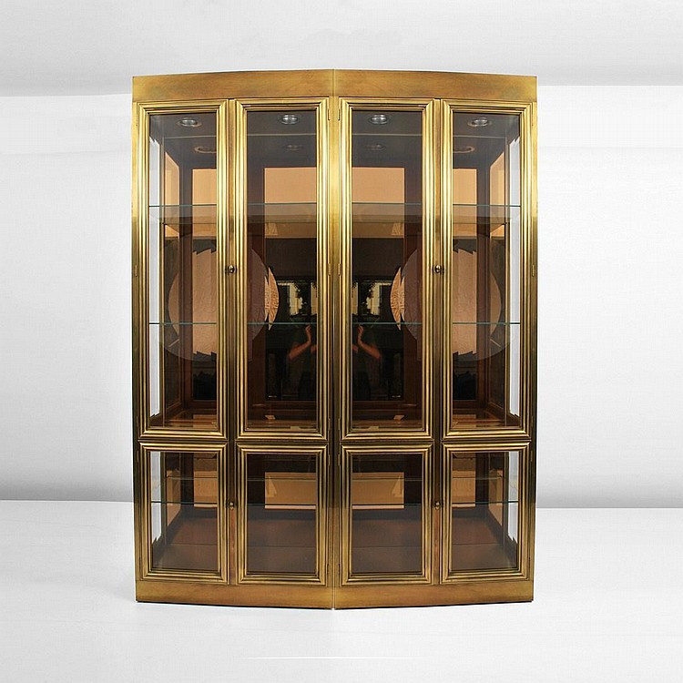 Pair of Mastercraft Display Cabinets