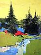 Large Italo George Botti Painting, Original Work