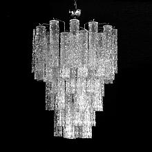 Italian Camer Multi-Tiered Chandelier