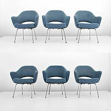 Eero Saarinen Chairs, Set of 6