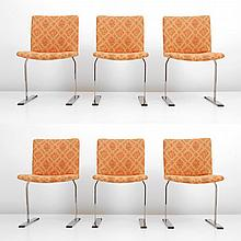 Giovanni Offredi Dining Chairs, Set of Six