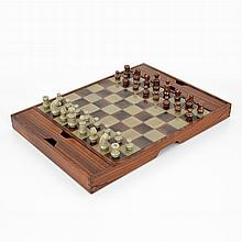 Rosewood Chess Set, Manner of Mogens Lund
