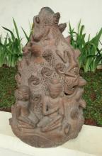 Majapahit teracotta statue